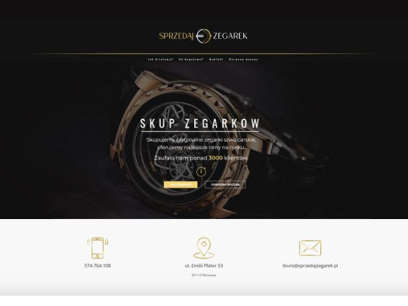 sprzedaj zegarek strona internetowa